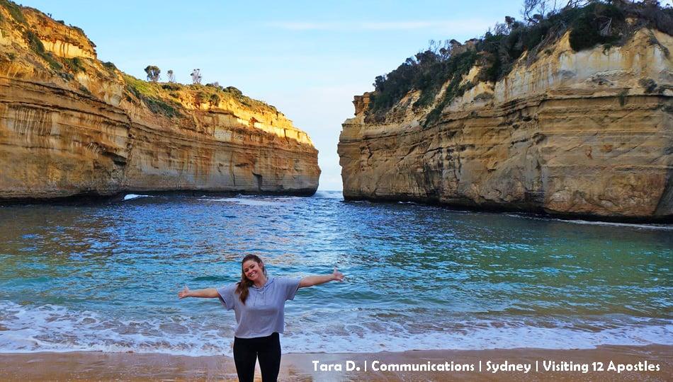 Sydney Intern Exploring Australia