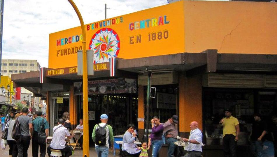 Mercado Central in San Jose Costa Rica