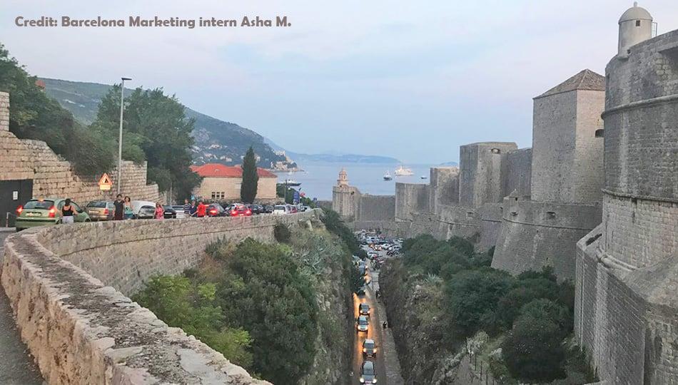 Walls of Dubrovnik Croatia