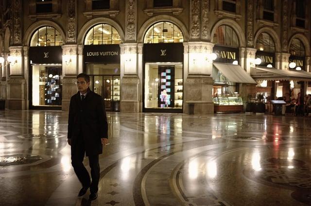 Window Shopping in Milan