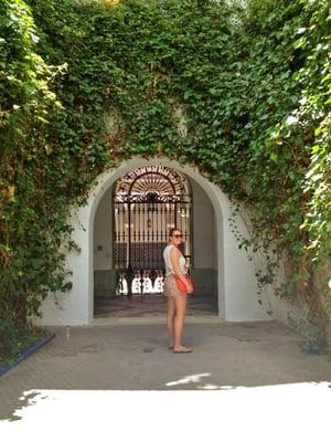 Woman in Spain