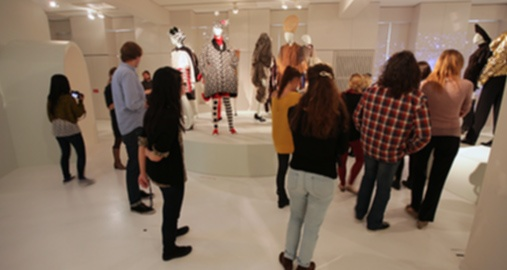 Fast-Paced Fashion Showroom