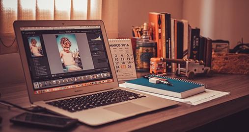 Graphic Design with a Magazine