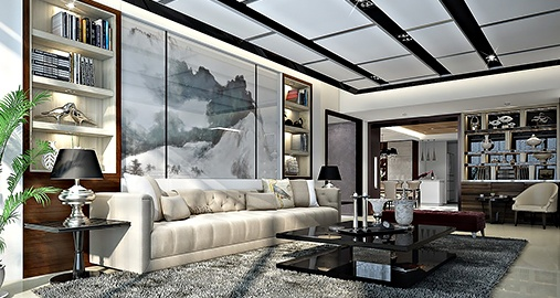Interior design in the luxury residential sector