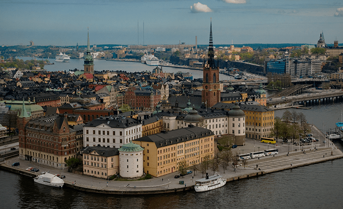 Stockholm, China
