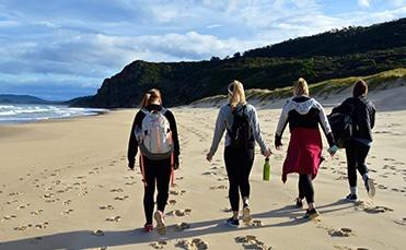 Exploring Beach