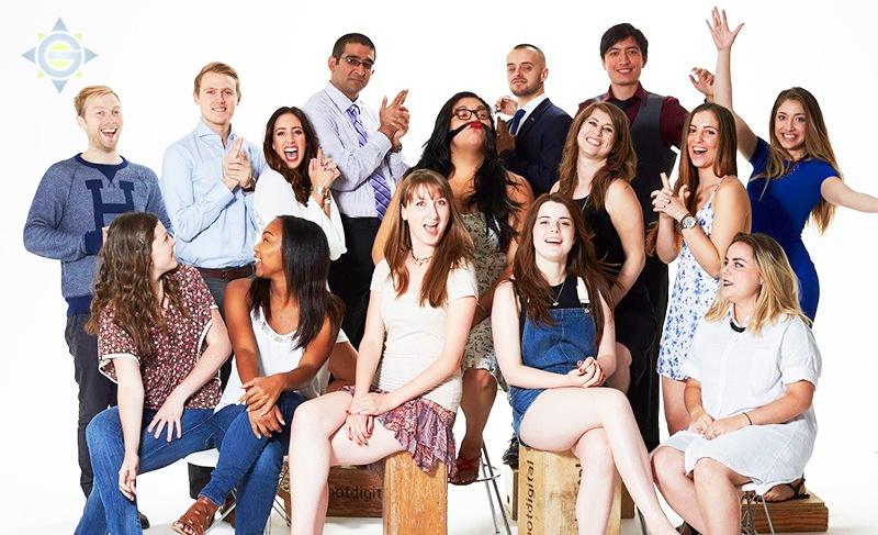 NYC interns group photo