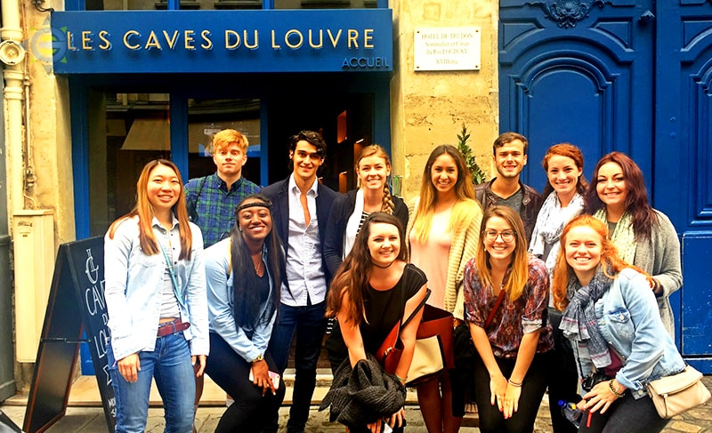 Interns Exploring France