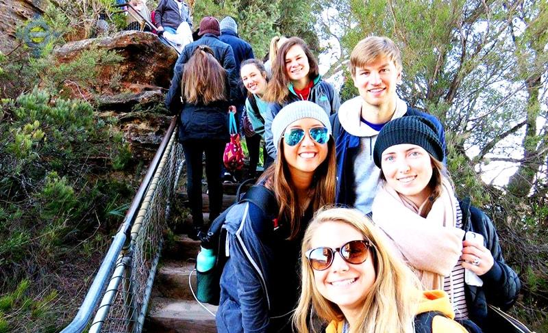 Interns group photo