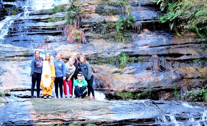 Exploring Sydney group photo