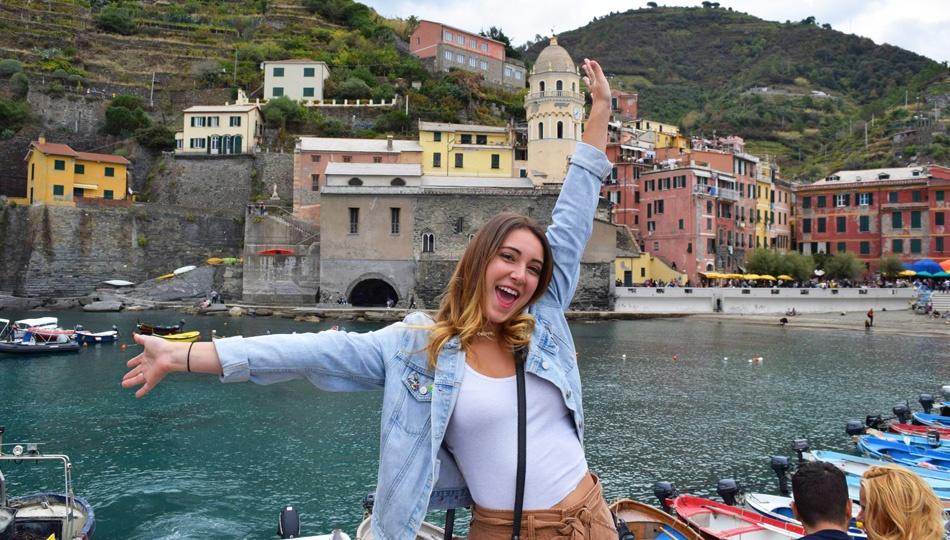 Nikkie in Italy