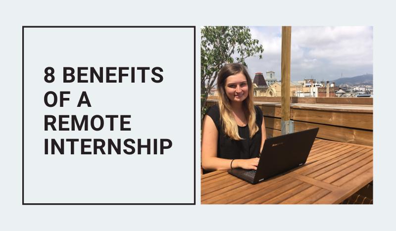 Benefits of a virtual internship