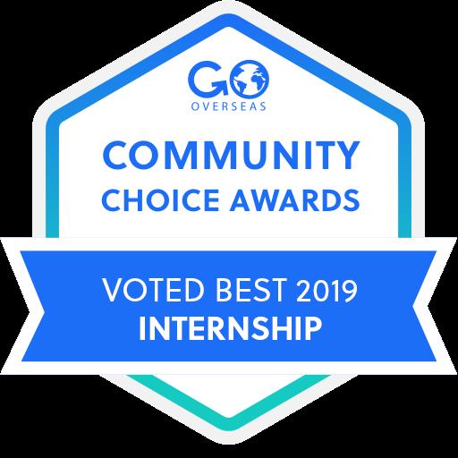 Voted Best 2019 Internship