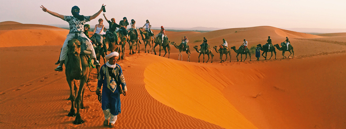 Camel-riding-in-Morocco