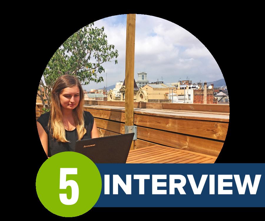 Interview for a remote internship